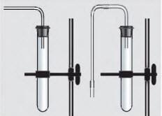 Простейшие приборы для собирания газов.